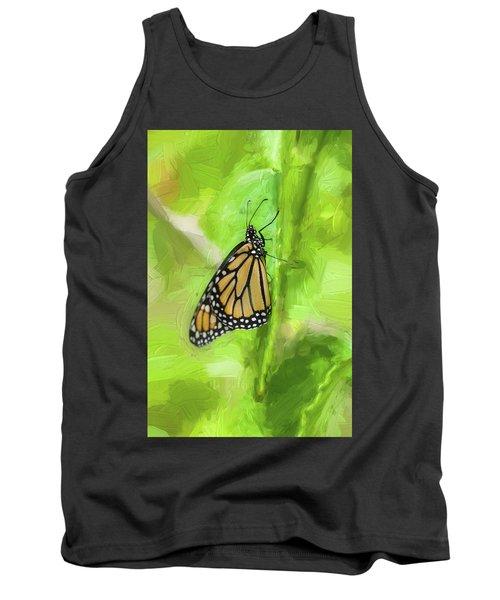 Monarch Butterflies Tank Top by Rich Franco