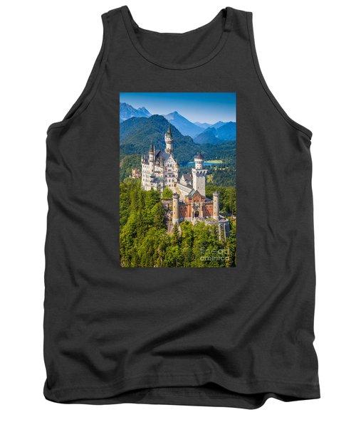 Neuschwanstein Fairytale Castle Tank Top