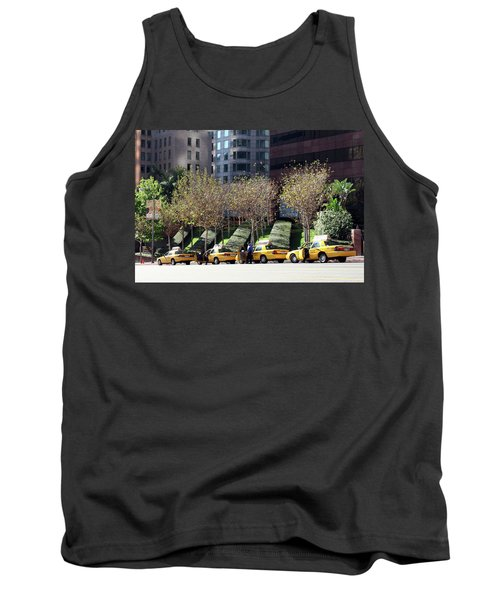 4 Taxis In The City Tank Top