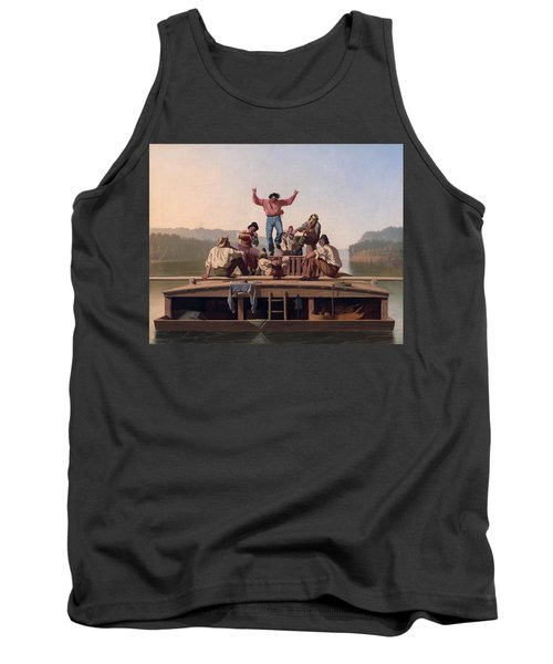 The Jolly Flatboatmen Tank Top