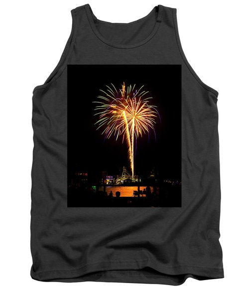 4th Of July Fireworks Tank Top by Bill Barber