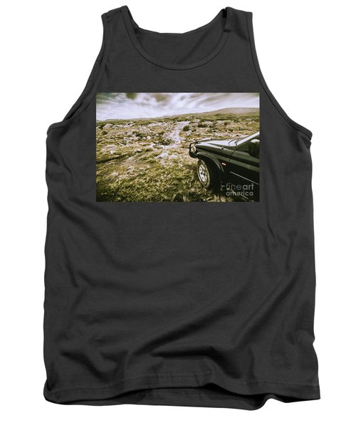 4wd On Offroad Track Tank Top