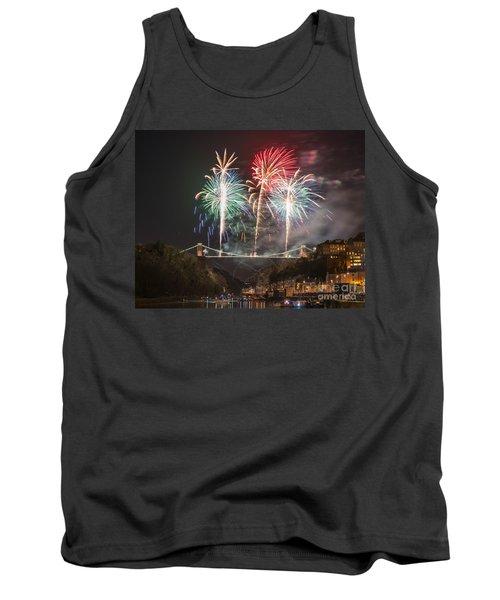 Clifton Suspension Bridge Fireworks Tank Top