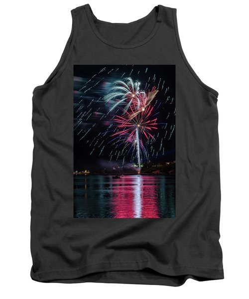 Fireworks Over Portland, Maine Tank Top