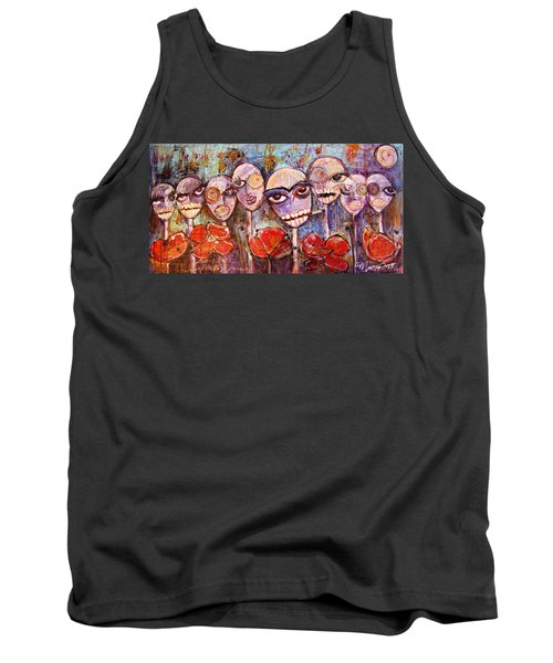 5 Poppies For The Dead Tank Top