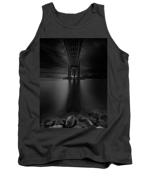 Tank Top featuring the photograph 50 Shades Of Verrazano by Edgars Erglis