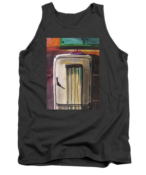 Tank Top featuring the painting 50's Update by John Williams