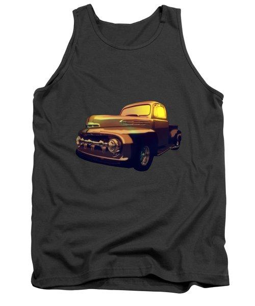 52 Ford Pickup Moody Morning Tank Top