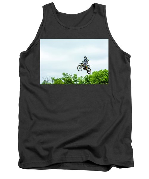 Tank Top featuring the photograph 573 Flying High At White Knuckle Ranch by David Morefield