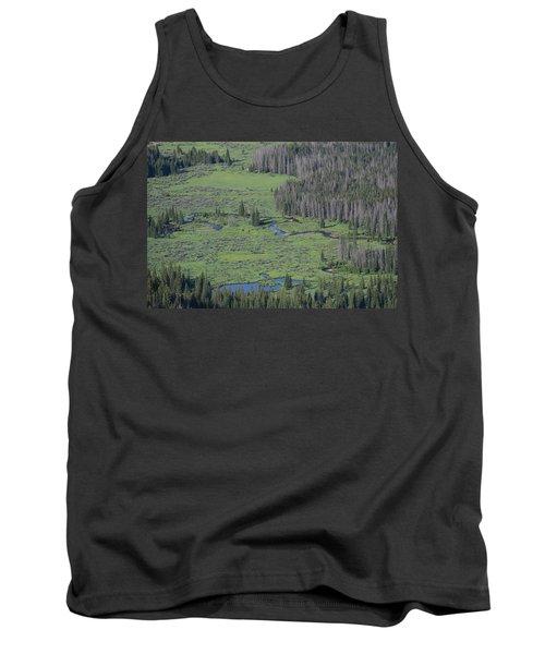 Scenery Rocky Mountain Np Co Tank Top