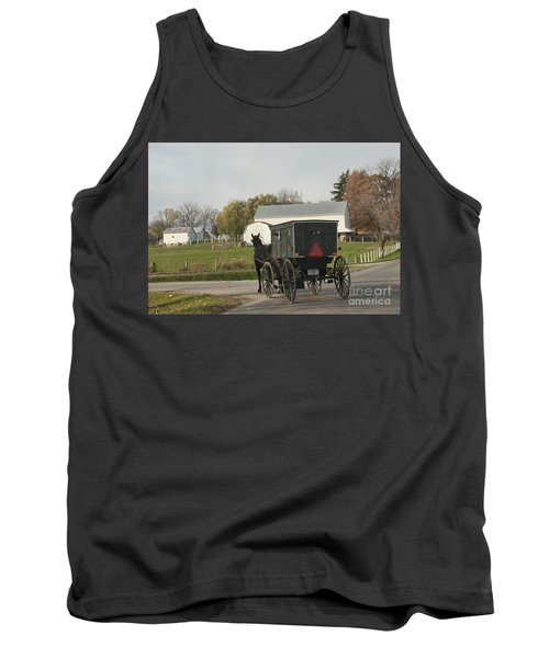 Amish Buggy Tank Top