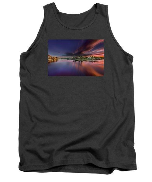 Sunrise At Naples, Florida Tank Top by Peter Lakomy