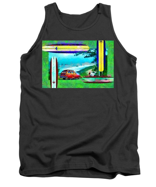 60's Surfing Tank Top