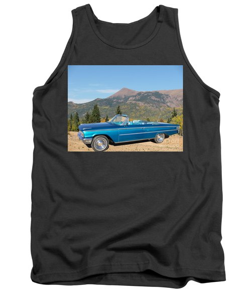 63 Ford Convertible Tank Top by Steven Parker