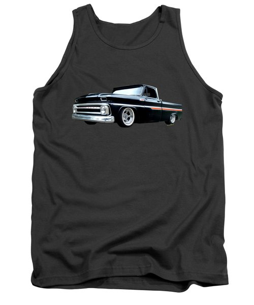 65 Chevy C-10 Stopping At Roy's On Route 66 Tank Top