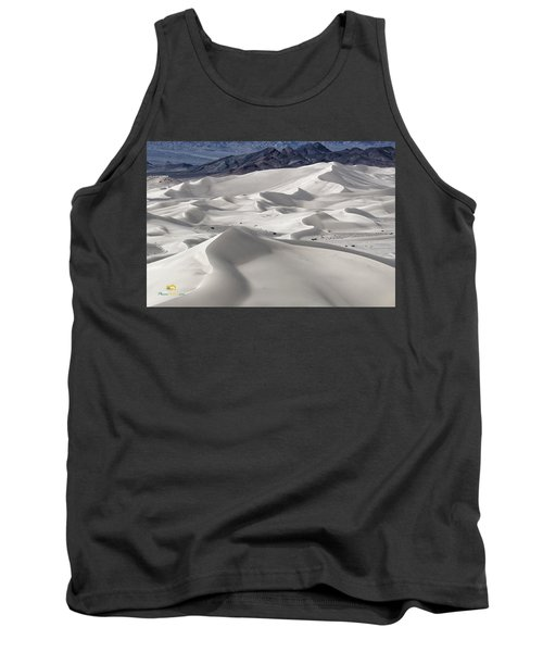 Tank Top featuring the photograph Dumont Dunes 8 by Jim Thompson