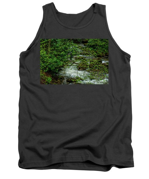 Tank Top featuring the photograph Kens Creek Cranberry Wilderness by Thomas R Fletcher