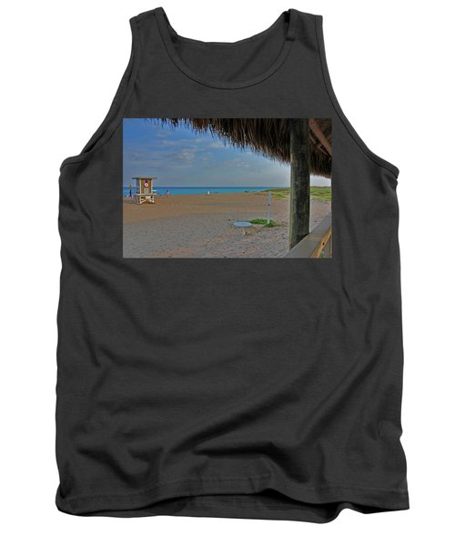 Tank Top featuring the photograph 7- Southern Beach by Joseph Keane