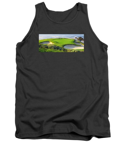 7th Hole At Pebble Beach Hol Tank Top