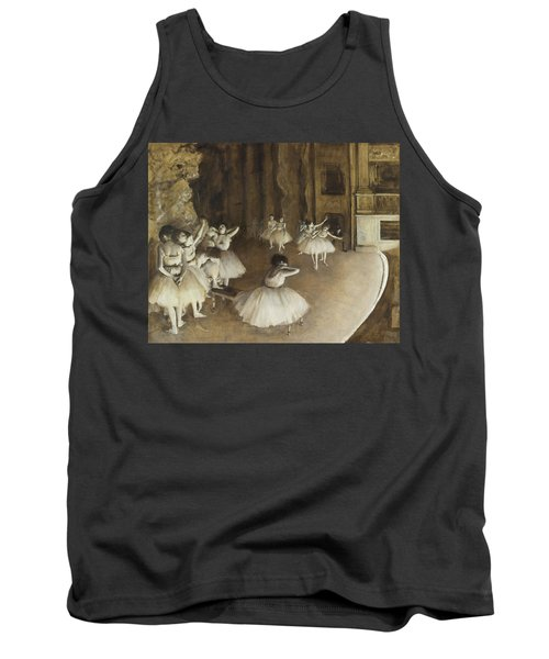 Ballet Rehearsal On Stage Tank Top