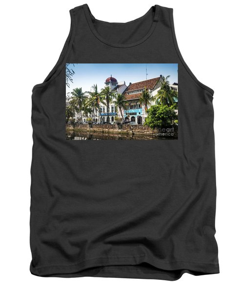 Dutch Colonial Buildings In Old Town Of Jakarta Indonesia Tank Top