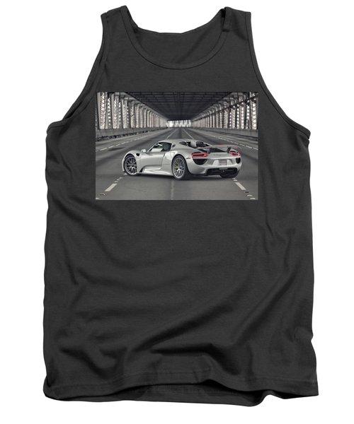 Porsche 918 Spyder  Tank Top