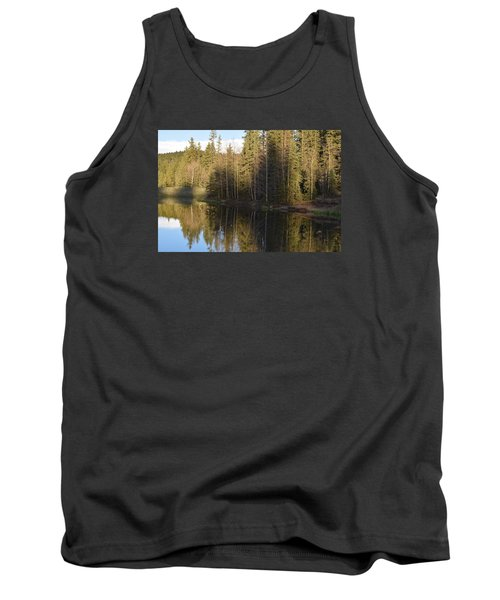 Shadow Reflection Kiddie Pond Divide Co Tank Top