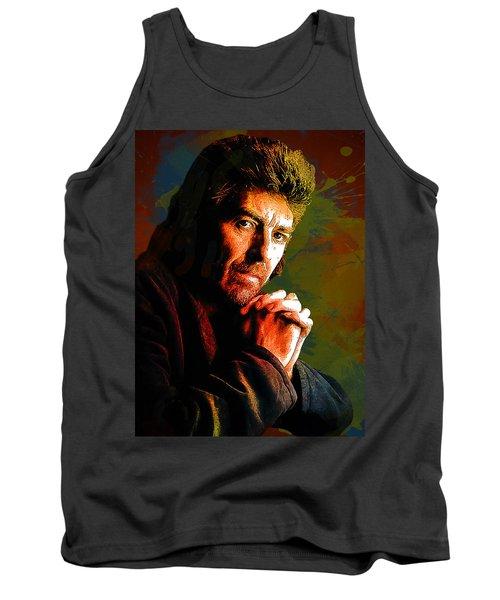 George Harrison. The Beatles. Tank Top