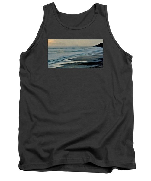 Stormy Morning At The Sea Tank Top by Werner Lehmann