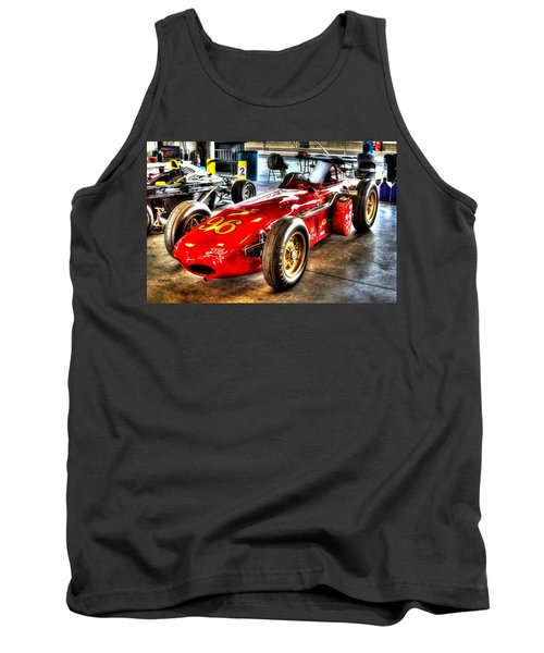 1961 Elder Indy Racing Special Tank Top by Josh Williams