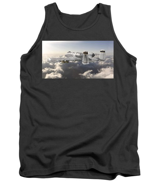 A-10 Thunderbolt II Tank Top by David Collins