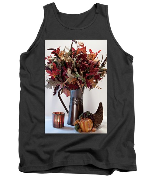 A Autumn Day Tank Top by Sherry Hallemeier