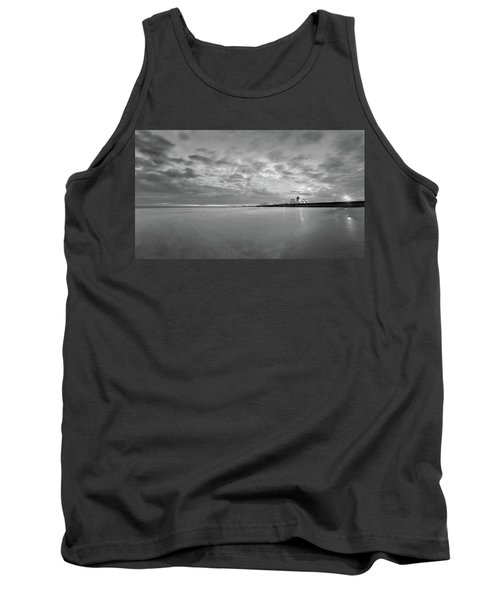 A Beach And A Bunch Of Boats Tank Top