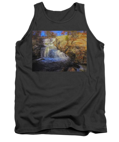 A Beautiful Connecticut Waterfall. Tank Top