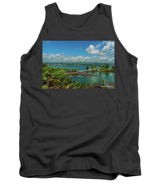 A Beautiful Day Over Hilo Bay Tank Top