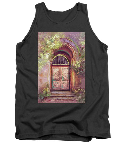 Tank Top featuring the digital art A Beautiful Mystery by Lois Bryan
