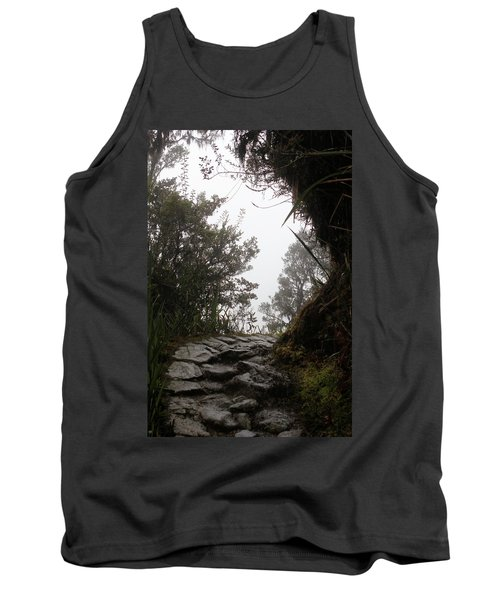 A Bend In The Path Tank Top