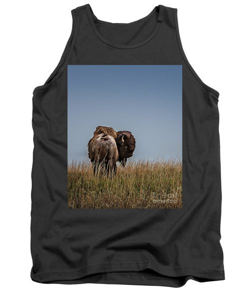A Bison Interrupted II Tank Top