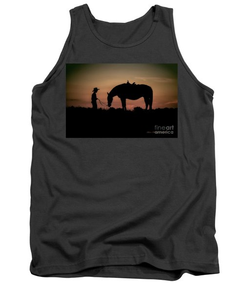 A Boy And His Horse Tank Top by Linda Blair