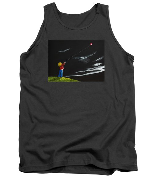 A Braw Night For Flight Tank Top by Scott Wilmot