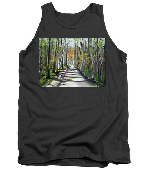 A Bright Autumn Day  Tank Top