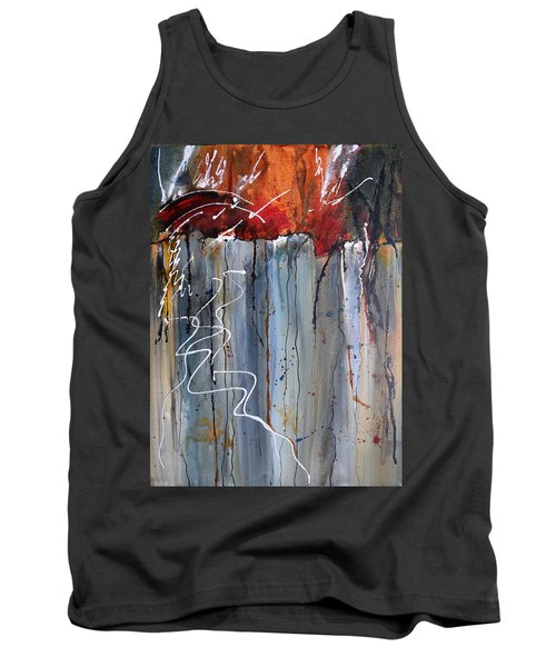A Burning Issue Tank Top by Nancy Jolley