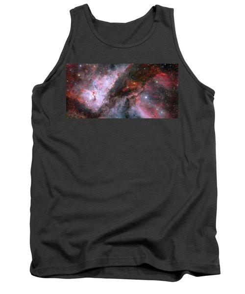 Tank Top featuring the photograph A Carina Nebula Pano by Nasa