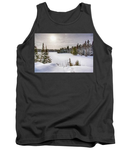 A Cold Algonquin Winters Days  Tank Top
