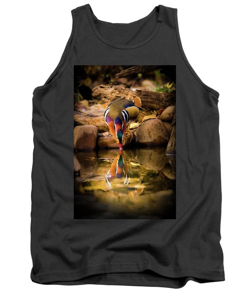 A Cold Drink - Mandarin Drake Tank Top