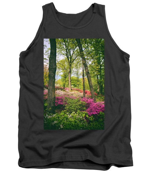 A Colorful Hillside Tank Top