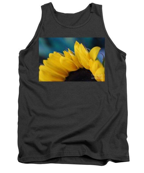 A Cool Sunflower Tank Top