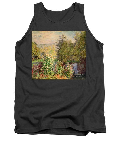 A Corner Of The Garden At Montgeron Tank Top