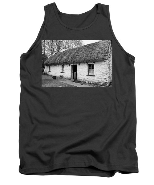 A Country Cottage Tank Top by Martina Fagan