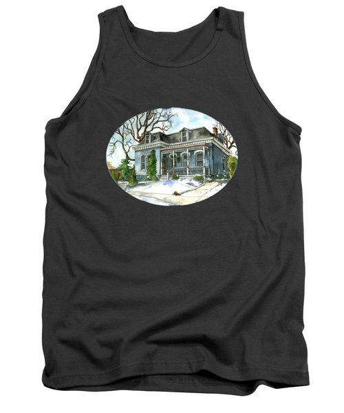 A Cozy Winter Cottage Tank Top